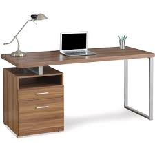 bureau simple xx bureau simple caisson bois noyer 89052 88 i 7146