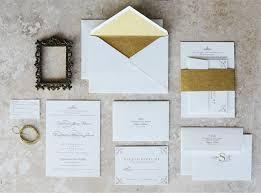 wedding invitations gold gold edge painted wedding invitations