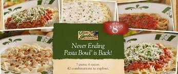 Olive Garden Never Ending Pasta Bowl Is Back - olive garden never ending pasta bowl review 25 g c giveaway