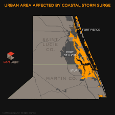 Port St Lucie Fl Map 2015 Storm Surge Maps