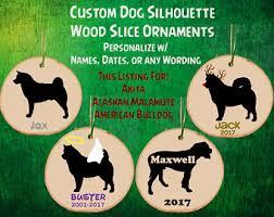 american bulldog ornament etsy