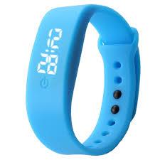 bracelet digital watches images Hot sale red led sports running watch date rubber bracelet digital jpg