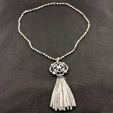 pearl tassel necklace images Diamond bead pearl tassel necklace craiger drake designs jpg