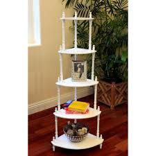 home depot decorative shelving homecraft furniture 5 tier corner decorative shelving rack in