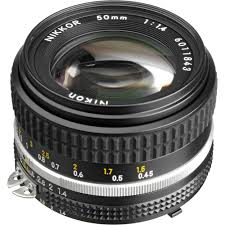 nikon nikkor 50mm f 1 4 lens 1433 b u0026h photo video