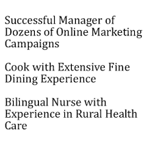 Examples Of Resume Title by Resume Examples Listed By Style