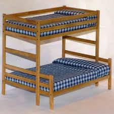 Twin Over Full Bunk Bed Woodworking Plans  Patterns EBay - Full over full bunk bed plans