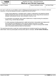 part i section 213 medical dental etc expenses rev 4 19 15 discretionary programs internal revenue service