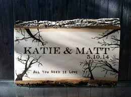 Personalized Wedding Plaque Wood Burned Wedding Gift Personalized Sign By Ocrusticcustoms
