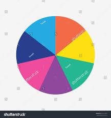 info template pie charts 7 steps stock vector 431411950 shutterstock