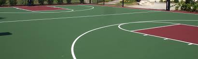 tennis court resurfacing products and acrylic sport surfaces
