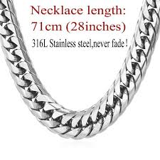 chunky necklace chain images Chunky necklace gold black hip hop chains stainless steel jpg