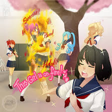 This Girl Is On Fire Meme - kokona kokonuts is on fire rn yandere simulator know your meme