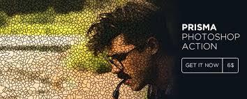 tutorial edit foto mozaik mosaic photoshop action mosaic creator action by creative fox