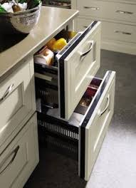 Master Brand Cabinets Inc by Refrigerator Drawer Contemporary Kitchen Cabinets Other