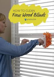 April Blinds How To Clean Even The Grimiest Faux Wood Blinds The Finishing