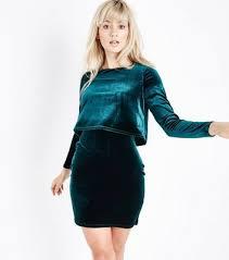 velvet and chenille new look