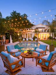 Patio Lighting Design String Lights Patio Lighting Globe Bulbs Backyard Ideas