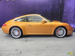 orange porsche targa 2009 nordic gold metallic porsche 911 targa 4s 39258693 photo 4