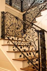 Metal Stair Rails And Banisters Best 25 Wrought Iron Stairs Ideas On Pinterest Wrought Iron