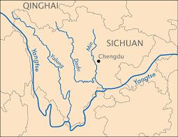 rivers in china map yalong dadu min rivers meltdown in tibet