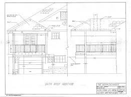 Deck Floor Plan by Deck Roof Addition Drawing Deck Roof Plans Swawou