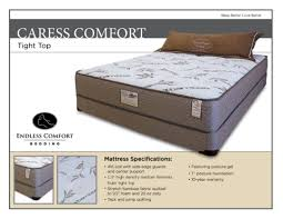 caress comfort tight top available flippable u2013 mike the mattress guy