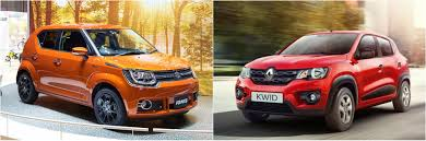 renault maruti wheelmonk maruti suzuki ignis vs renault kwid best car under 6