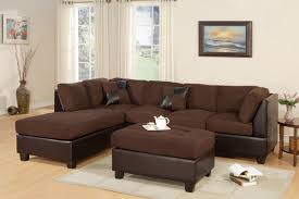 microfiber sectional with ottoman modern 3 piece microfiber sectional sofa ottoman