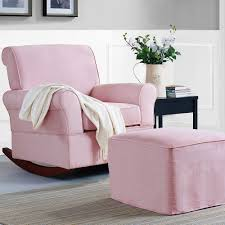 Rocking Chair With Ottoman For Nursery Rocking Chair With Ottoman Nursery Bed U0026 Shower Nice Baby