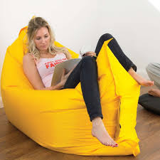 Big Bean Bag Chair by Making Giant Bean Bag Chair Home Decorations Ideas