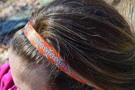 no slip headbands ribbon non slip elastic headbands dragonfly
