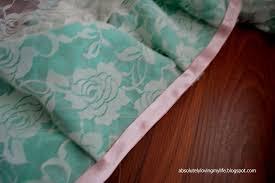 loving life an almost no sew ruffled crib skirt
