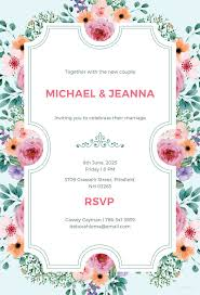 invitation marriage 41 wedding invitation template free psd vector ai eps format
