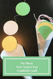 easy and fun new year u0027s eve craft no mess and all the fun this