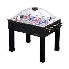 rod hockey table reviews best bubble hockey tables best bubble hockey table