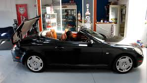 lexus convertible sc430 lexus sc 430 convertible bart testing roof operation youtube