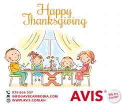 i wish you a happy thanksgiving avis rent a car cambodia linkedin