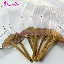 paddle fans wedding fan paper paddle fan wedding gifts baby showers