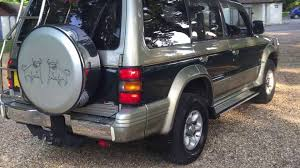 mitsubishi pakistan mitsubishi 2 8 pajero for sale on ebay uk youtube