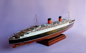 Queen Elizabeth Ii Ship by Queen Elizabeth Model Ship