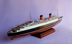 queen elizabeth model ship