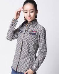 Black And White Plaid Shirt Womens Black And White Small Plaid Shirt 4xl Plus Size For Women