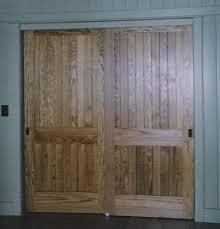 Wooden Closet Door Solid Wood Closet Doors Home Design And Pictures