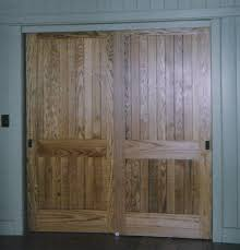 Wood Closet Doors Custom Made Interior Solid Wood Doors Arch Top Panel