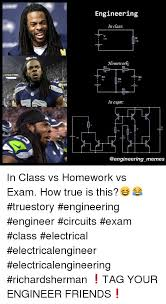 Electrical Engineering Meme - engineering in class 12v 10k homework r1 b1 r4 in exam memes in