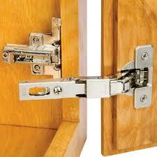 hidden kitchen cabinet hinges rockler hinge and plate for 3 8 lipped face frame doors doors
