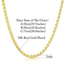 chain necklace styles gold images Mens gold chain necklace gold color chain for men new cheap jpg