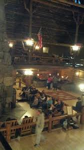 the old faithful inn at yellowstone national park scott and