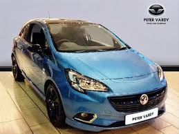 vauxhall corsa blue 2017 vauxhall corsa hatchback special eds 1 4 75 limited